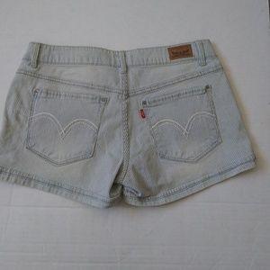 LEVI'S shorty shorts. Size 11 NWOT